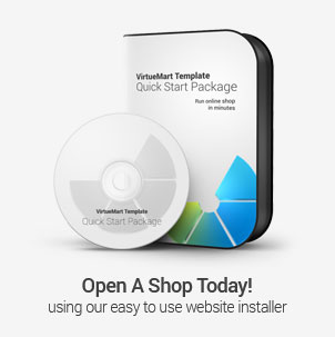 Joomla shop template Quick Start package
